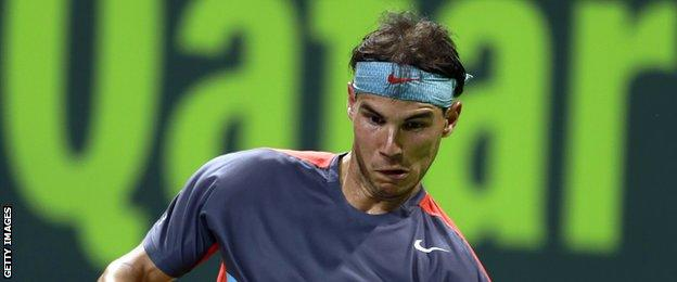 World number one tennis player Rafael Nadal is a regular competitor in Doha
