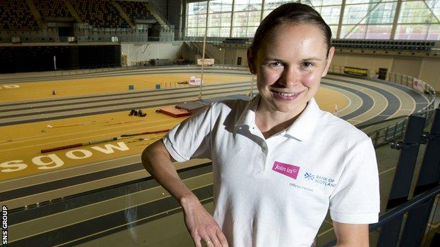 Freya Ross was a late pick for Team Scotland