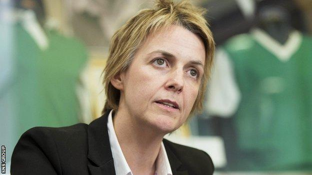 Hibernian chief executive Leeann Dempster is keeping an open mind on the search for a new manager