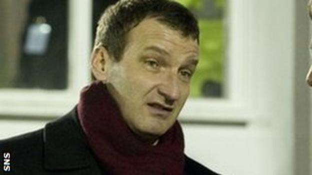 Csaba Laszlo is keen on the Falkirk job