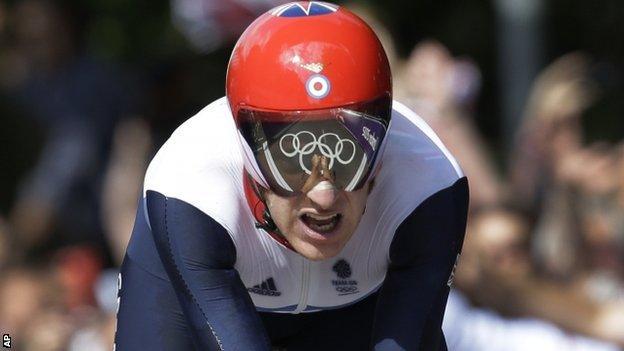 Bradley Wiggins London Olympics