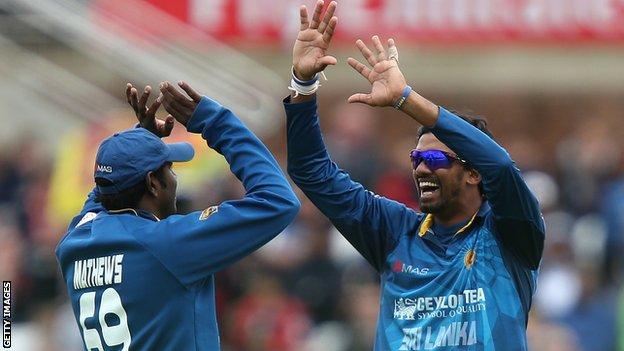 Sri Lanka captain Angelo Mathews and off-spinner Sachithra Senanayake