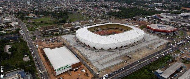 Arena De Amazonia