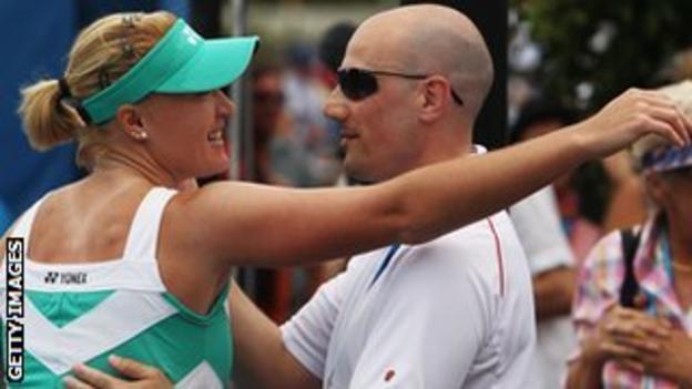 Elena Baltacha and Nino Severino