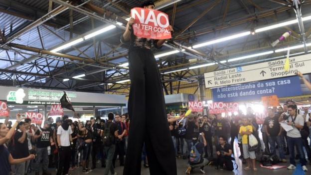 Sao Paulo demonstrations