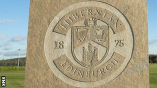 Hibernian's training centre in Tranent