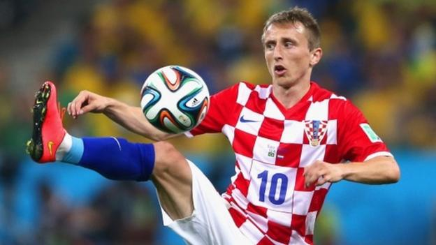 4556ee6fc12 World Cup 2014  Luka Modric hoping to be fit to face Cameroon - BBC Sport