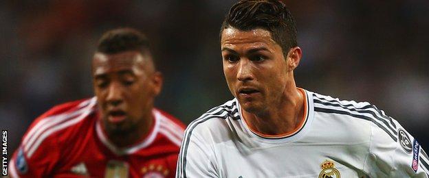 Jerome Boateng and Cristiano Ronaldo
