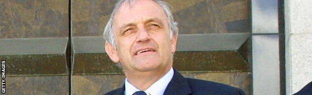 Michel Sablon, Belgium's former technical director.