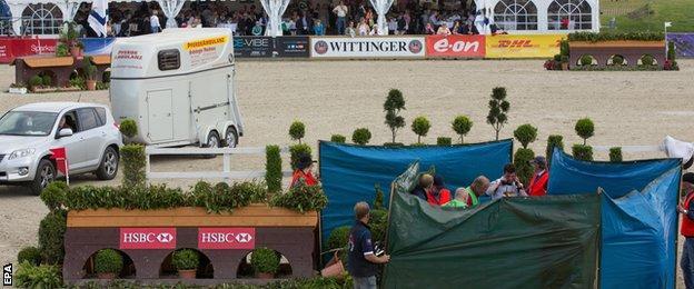 The Luhmuhlen Horse Trials