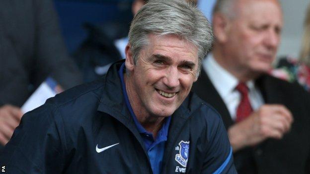 New West Brom manager Alan Irvine