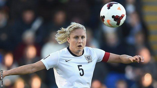 Steph Houghton of England women