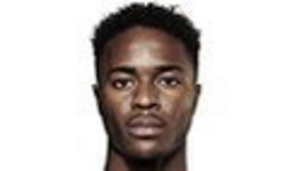 England forward Raheem Sterling