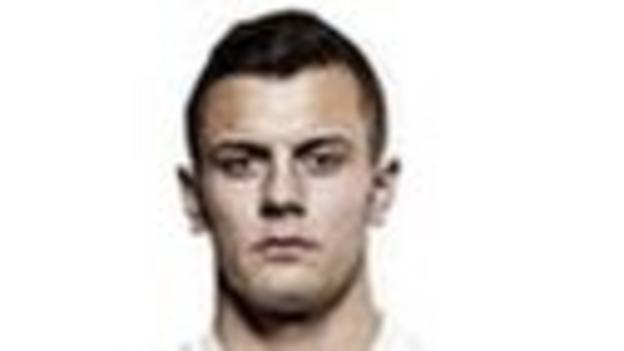 England midfielder Jack Wilshire
