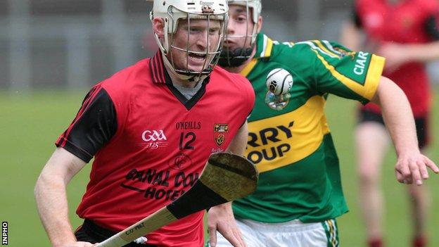 Conor O'Prey helped Down to a comfortable win at Clones