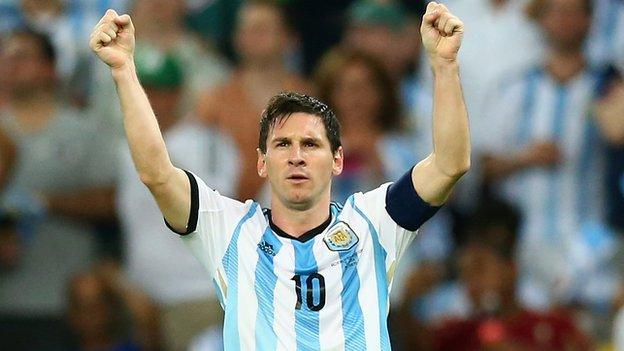 Lionel Messi Had First Game Jitters For Argentina World