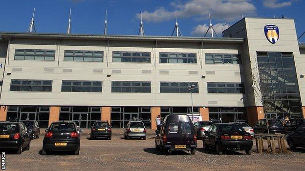 Colchester United's Weston Home Community Stadium