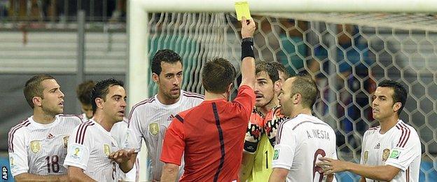 Spain's Iker Casillas