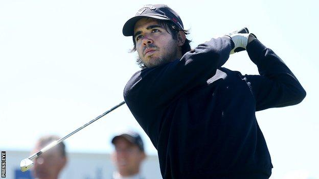 Javier Ballesteros is a son of the late three-times Open Champion Seve Ballesteros