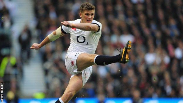Owen Farrell kicked two penalties and three conversions for England in their 28-27 second-Test defeat by New Zealand