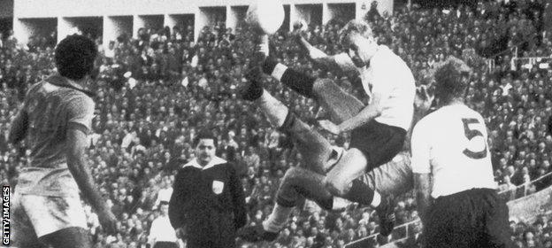 England v Brazil 1958