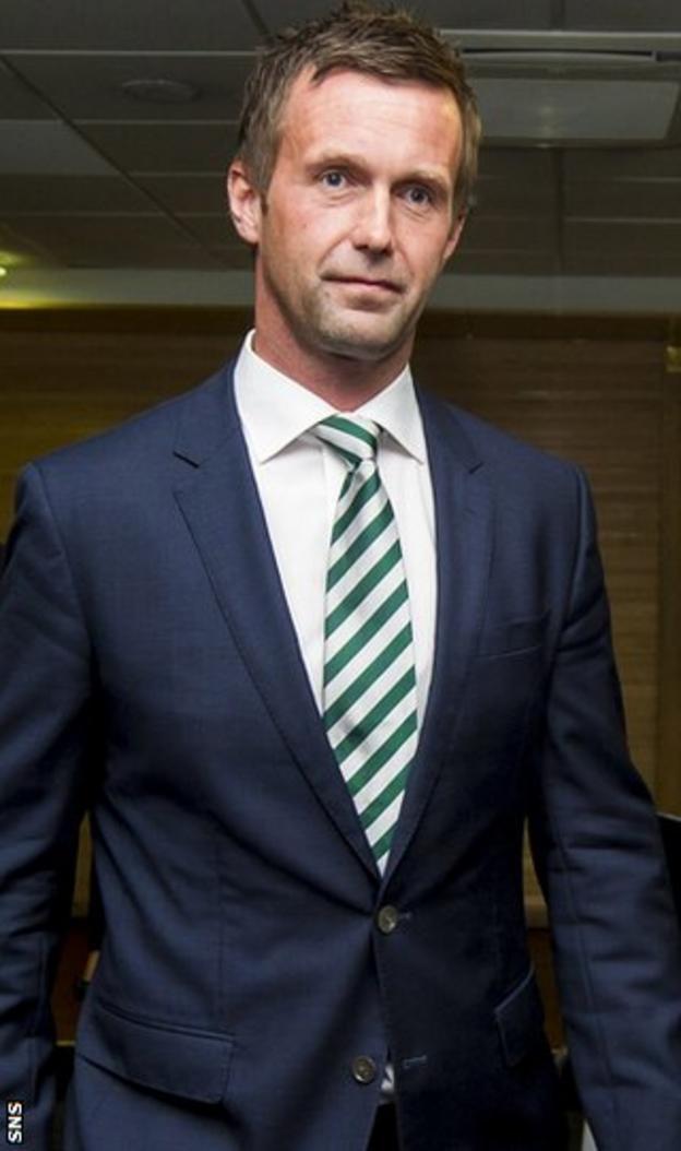 Celtic manager Deila