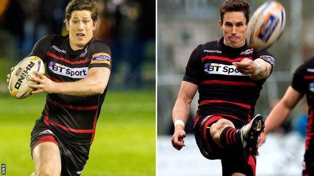 Sam Beard and Carl Bezuidenhout are sticking with Edinburgh