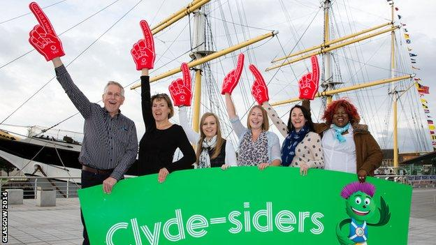 Glasgow 2014 clyde-siders