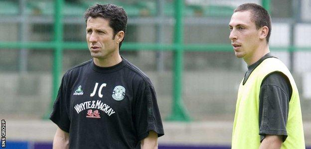 John Collins and Scott Brown worked togther at Hibernian