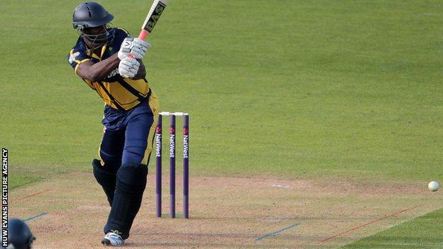 Glamorgan and West Indies all-rounder Darren Sammy