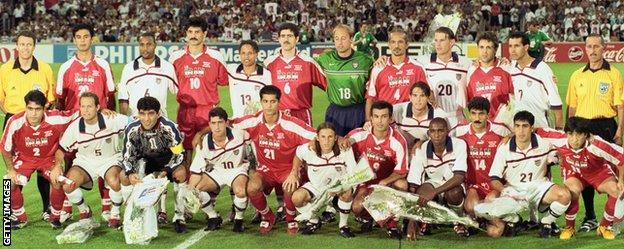 Iran v United States at the 1998 World Cup
