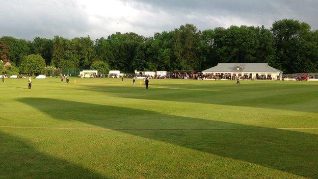Shifnal Cricket Club, Priorslee Road