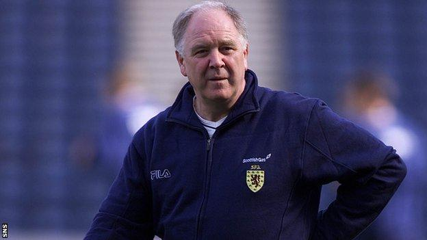 Craig Brown is Scotland's longest-serving manager