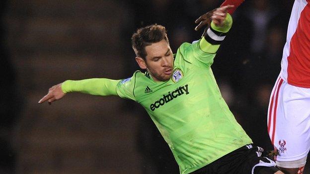 Former Forest Green Rovers defender Jared Hodgkiss