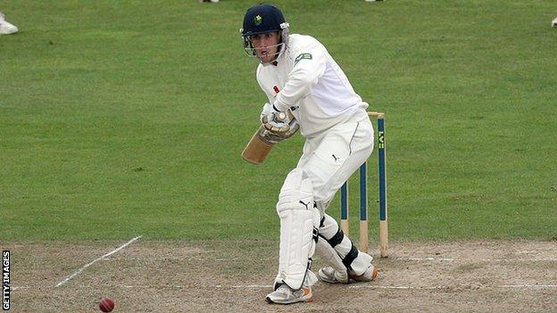 Glamorgan batsman Ben Wright has high hopes for his side's chances against Gloucestershire after hitting 123.