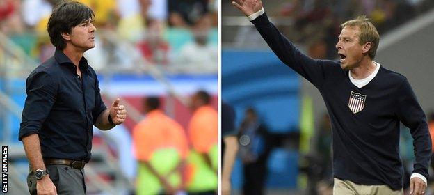 Joachim Low and Jurgen Klinsman
