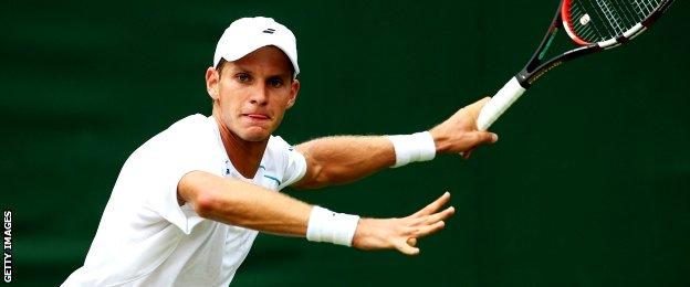 Slovenia tennis player Blaz Rola