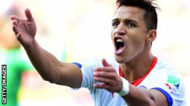 Chile international Alexis Sanchez