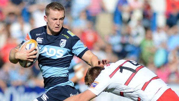 Owen Williams takes on Edinburgh in 2013