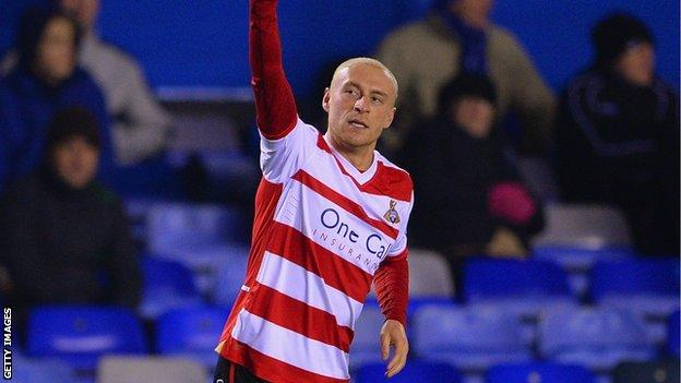 Doncaster Rovers midfielder David Cotterill