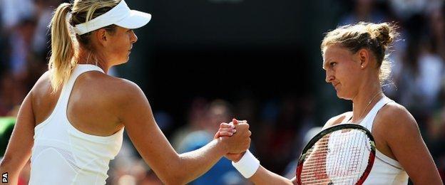 Sharapova and Murray
