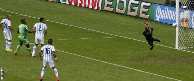 Ahmed Musa equalises