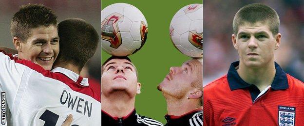 Steven Gerrard through the ages