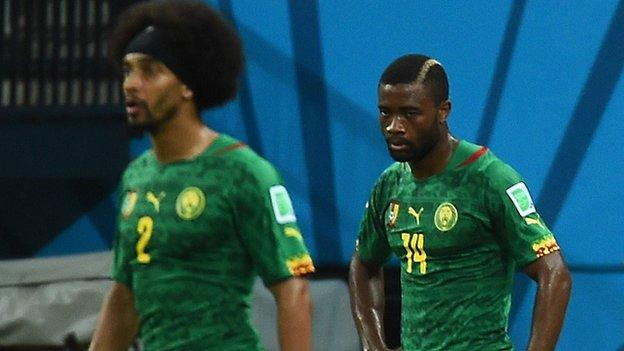 best authentic 59e05 da285 World Cup 2014: Cameroon orders inquiry into failure - BBC Sport