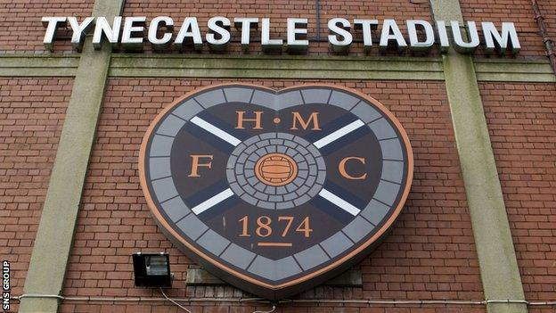 Hearts are busy rebuilding the squad at Tynecastle