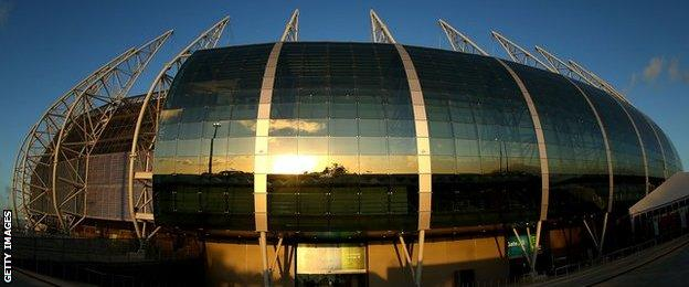 Estadio Castelao, Fortaleza, Brazil