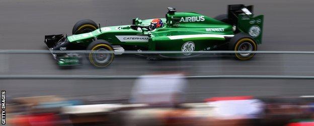 Caterham F1 car