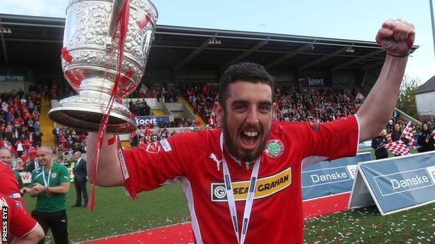 Joe Gormley was the the Premiership's top scorer last season