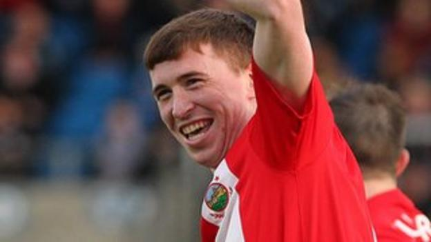 Billy Joe Burns left Linfield to join Belfast rivals Crusaders