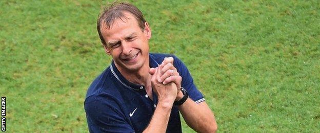 USA coach Jurgen Klinsmann